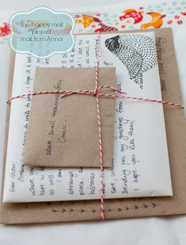 Happy Mail project: letter from Anna ♥   Ishtar Olivera