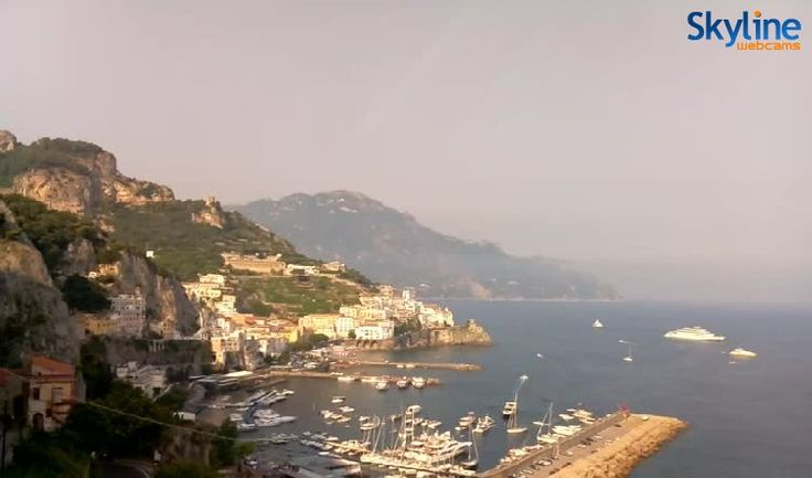 Live Webcam Amalfi