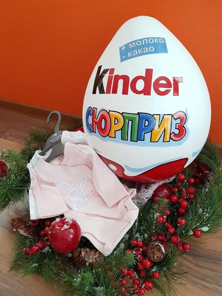 Стихи к подарку киндер сюрприз на день рождения время был