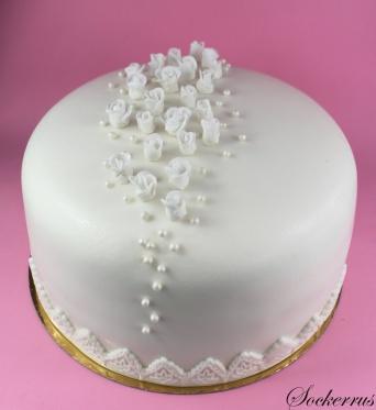 Vit tårta