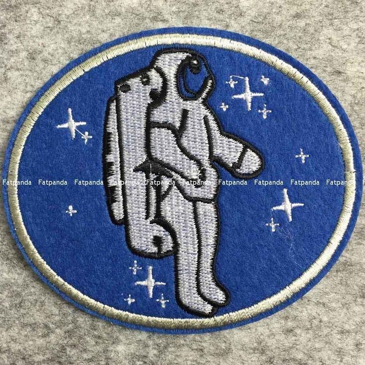 us nasa Space astronaut embroidered PATCH iron/sew on kids bag badge applique