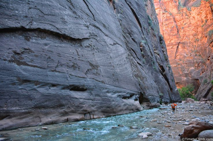 Hiking Zion Narrows in Zion National Park