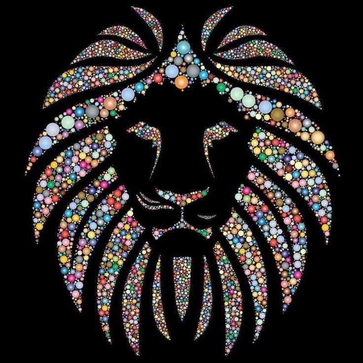 5D Diamond Painting Jeweled Lion's Mane Kit Cross