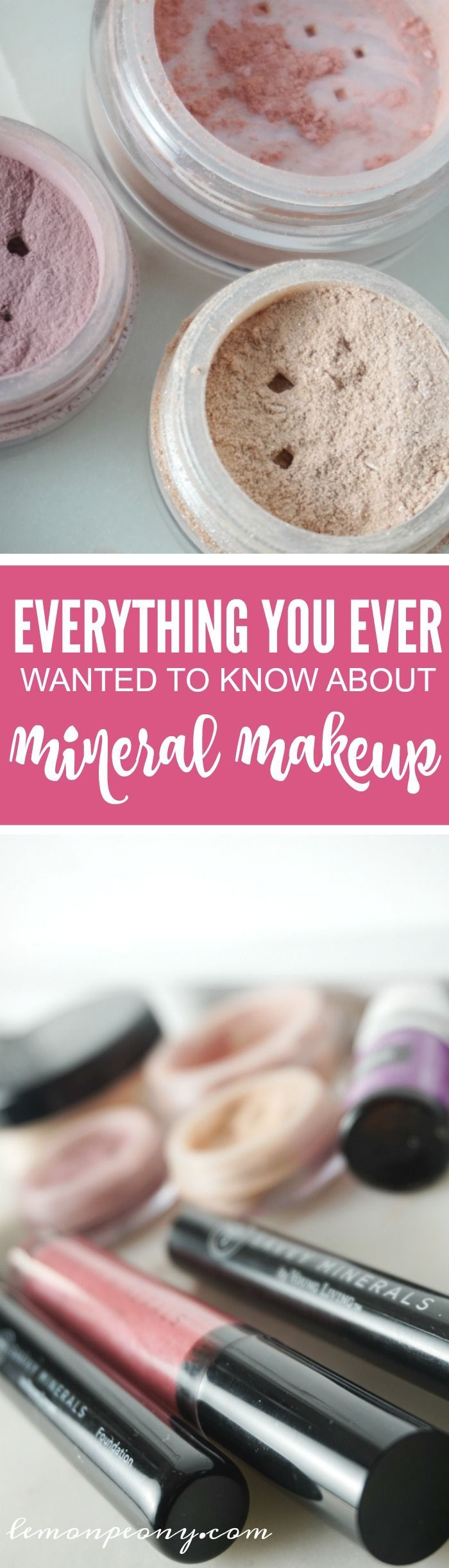 Everything You Ever Wanted to Know about Mineral Makeup