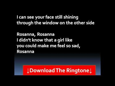 ▶ Toto - Rosanna Lyrics - YouTube