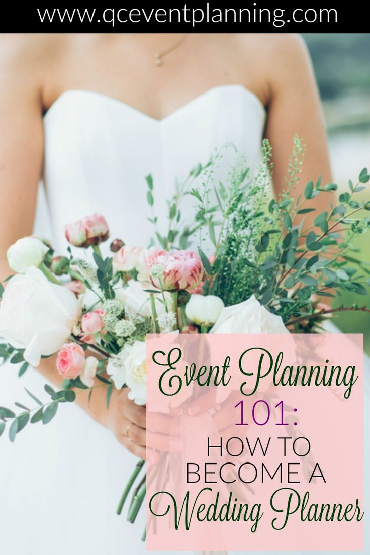 How do you go about becoming a wedding planner? Becoming certified and gaining experience are just two ways you can pursue this career path -- read on for the full list! #QCEventSchool #events #weddings #learning #weddingplanner #becomeaweddingplanner #ca