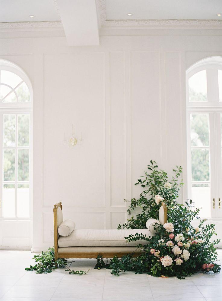 romantic wedding styling - photo by Kurt Boomer http://ruffledblog.com/enchanted-garden-bridal-inspiration