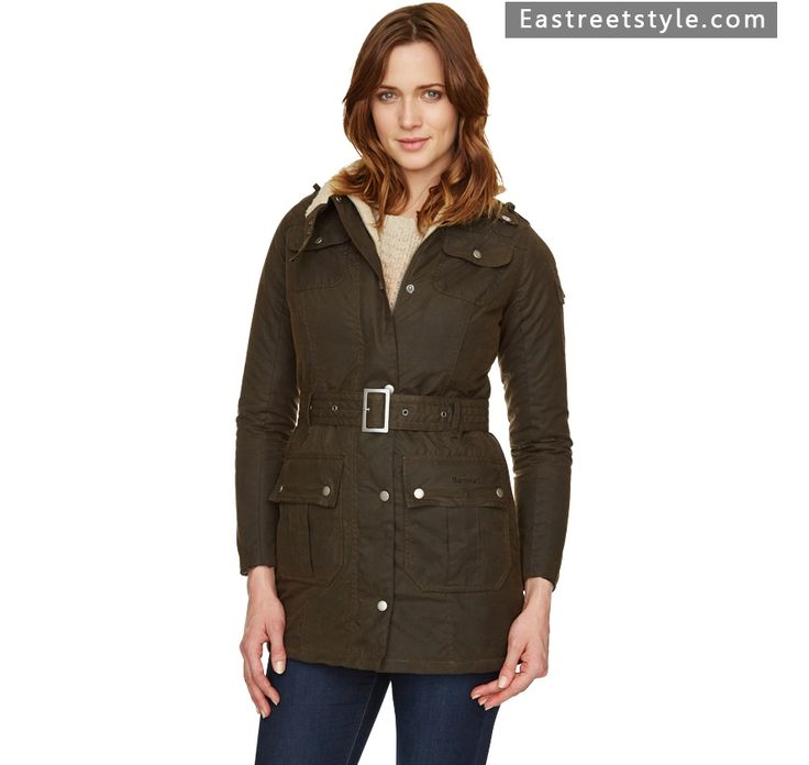Women Barbour Navigation Waxed Jacket at www.eastreetstyle.com #Barbour Jackets Sale