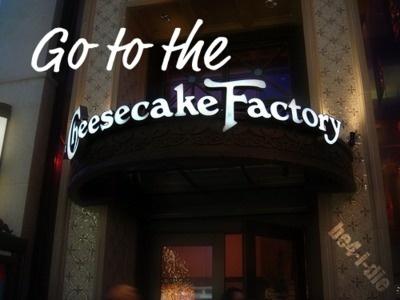 I have eaten at the Cheesecake Factory in Texas, Atlanta,  & Las Vegas