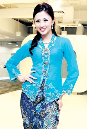 Simple Kebaya encim