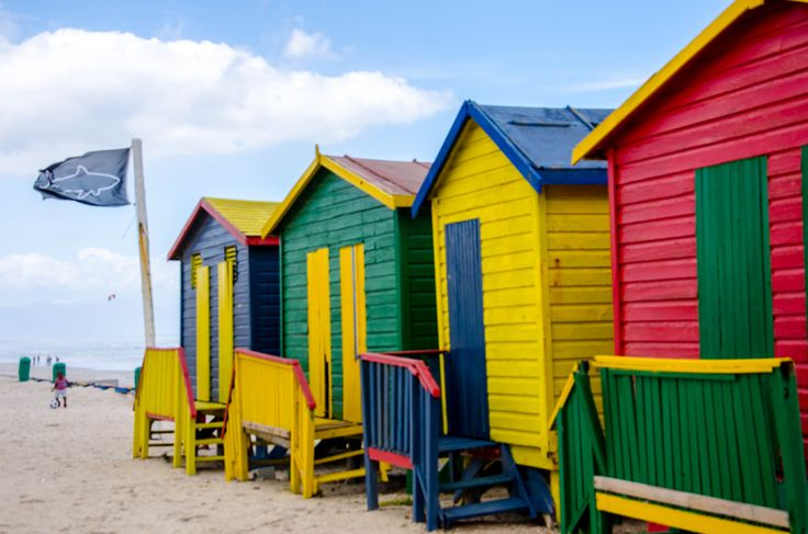 Beach huts in #SouthAfrica