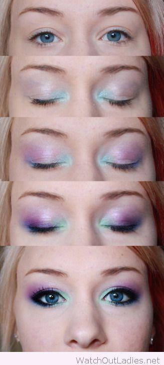Halloween-mermaid-makeup.jpg (327×726)