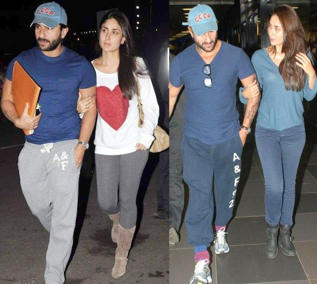 Kareena Kapoor and Saif Ali Khan Matching Outfits
