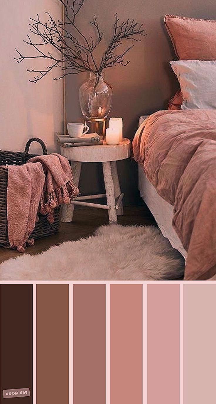 Schlafzimmer Ideen Farben In 2020 Zimmer Farbschemata Idee