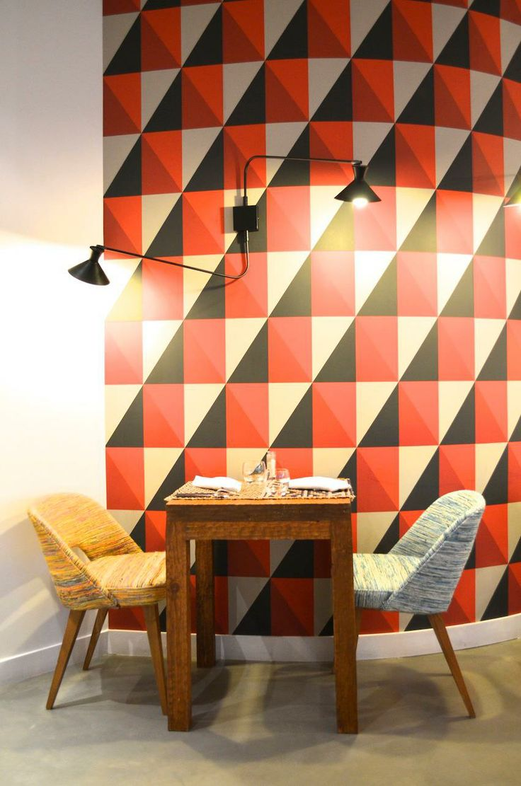 Dress up walls with textured paintable wallpaper called anaglypta - Inspiration For Your Paris Vacation From Paris Deluxe Rentals
