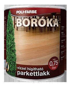 Poli-Farbe Boróka vizes parkettalakk