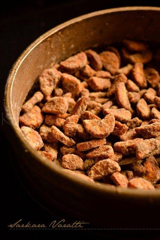 Sarkara Varatti | Sarkara Puratti | Sweet Plantain Chips | Onam Sadhya Recipe | kurryleaves
