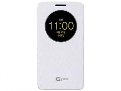 Capa Protetora Quick Circle para LG G3 Beat - Voia com as melhores condições você encontra no Magazine Apscomputadores. Confira!