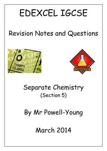 igcse chemistry coursework Enthalpy 2|page anjelina qureshi mrs gravell rates of reaction coursework chemistry year 11 enthalpy, in chemistry, is the heat content in a chemical reaction the enthalpy change is the amount of heat absorbed or released when a chemical reaction occurs at a constant pressure.