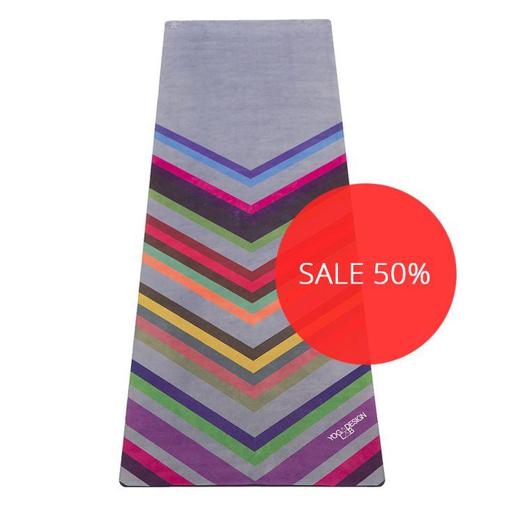 Yoga Design Lab Chevron Print Yoga Mat Towel Combo At: 147 Best Yoga Mats Images On Pinterest