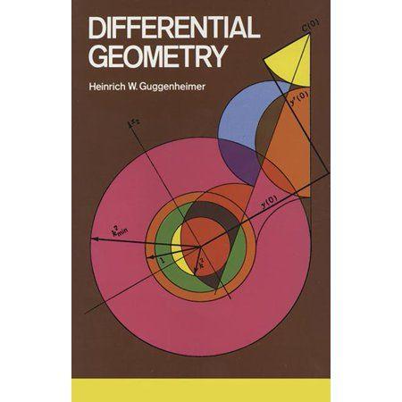 Differential Geometry Walmart Com In 2021 Mathematics Geometry Math Books