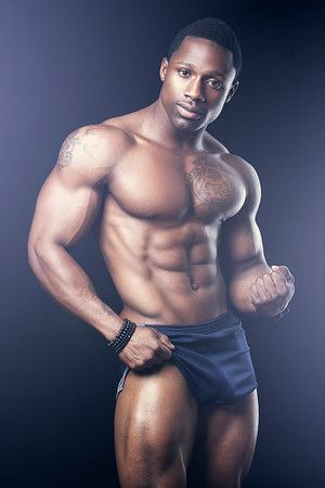 image Muscular black gay men erik tristan and