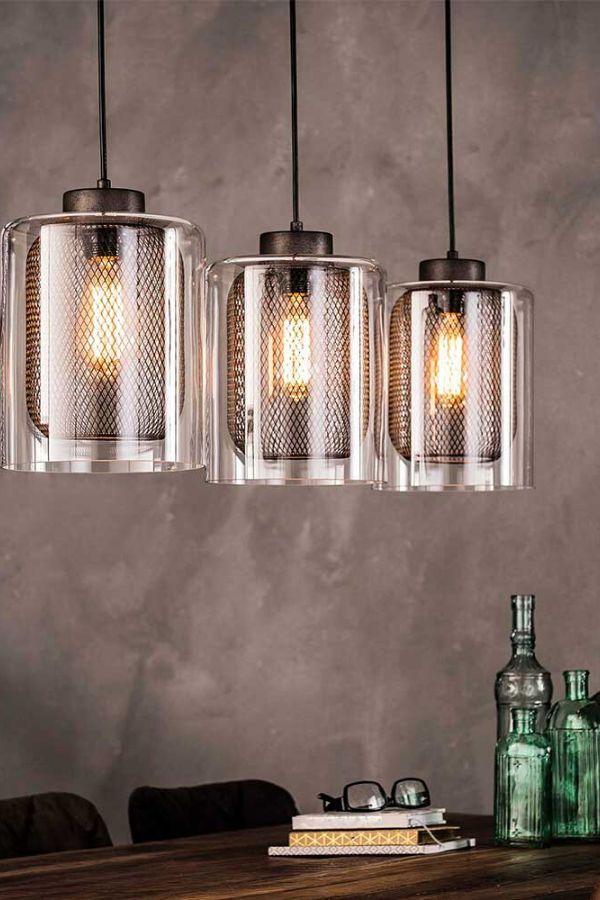 Hängelampe Wohnzimmerbeleuchtung Esszimmerlampe LED Leuchte Big Light
