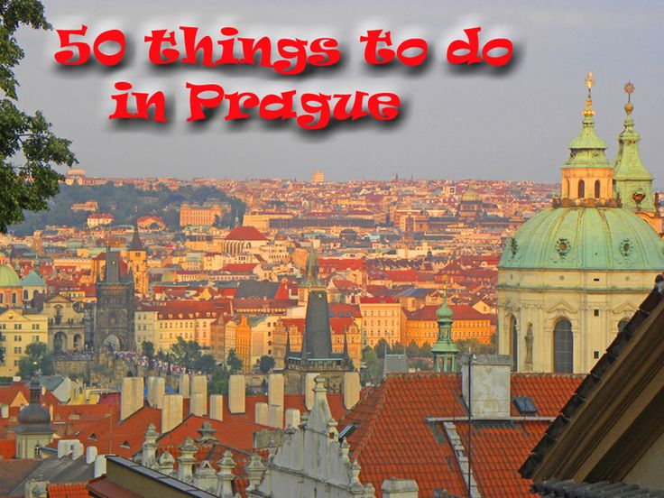 50 Things to do in Prague - The Travels of BBQboy and Spanky