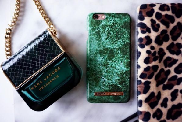 Green Marble by @nathalieloveless - Fashion case phone cases iphone inspiration iDeal of Sweden