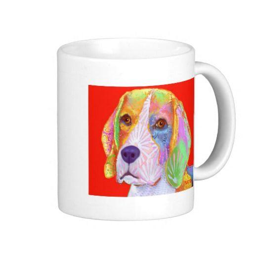 Beagle dog mugs