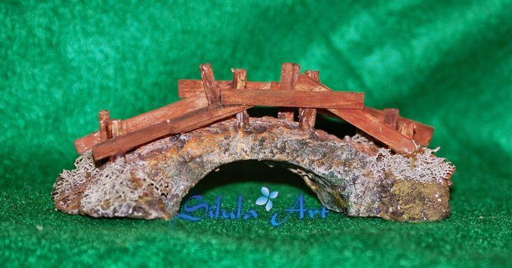 Silula Art: Ponte di legno - Presepe artigianale