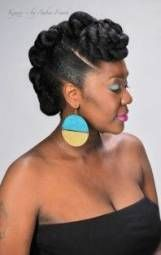 43+ Super ideas wedding hairstyles for black women natural curls protective styles