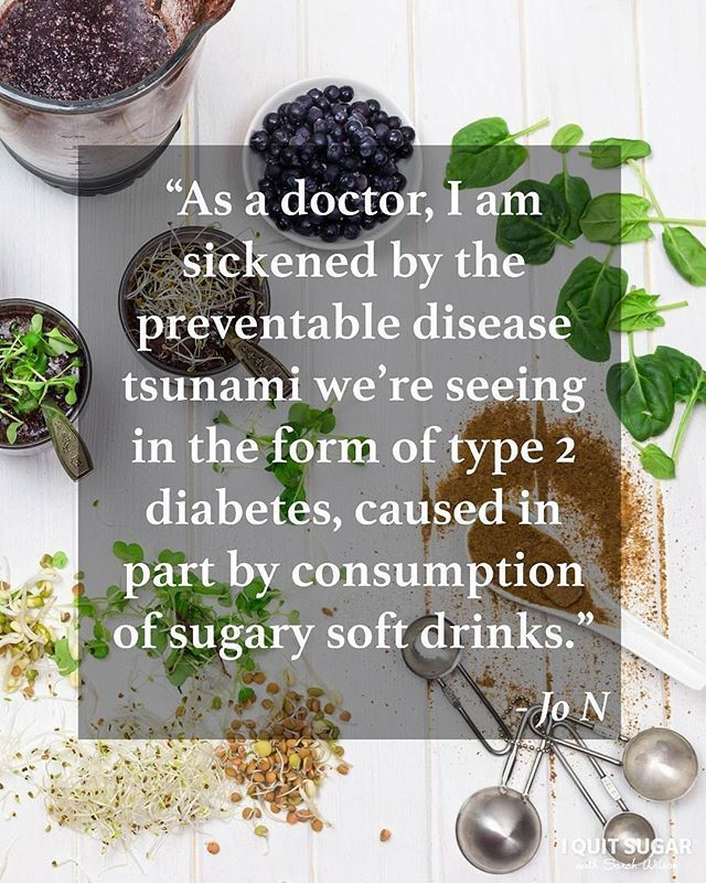 Are you concerned by the number of Australians that exceed the recommended daily sugar intake (6-9 teaspoons) everyday? I know we are! Excessive sugar consumption can be associated with fat storage in liver, obesity and type 2 diabetes. Just like Aussie doctor Jo N, we think it's time for the Government to take action and implement a sugar tax. What do you think? Let's all be proactive and do our part to improve the health and wellness of our nation.