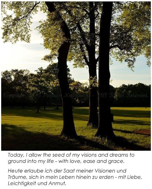 Dreaming Into Reality.  -  In die Realität Hinein Träumen.  --  by Steffi on 2013-06-06