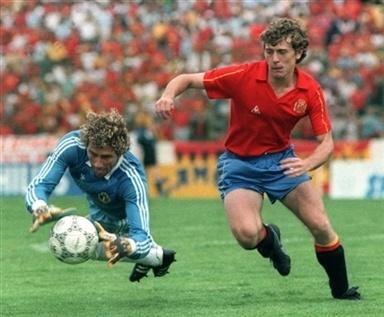 Emilio Butragueño (Mundial México 1986)