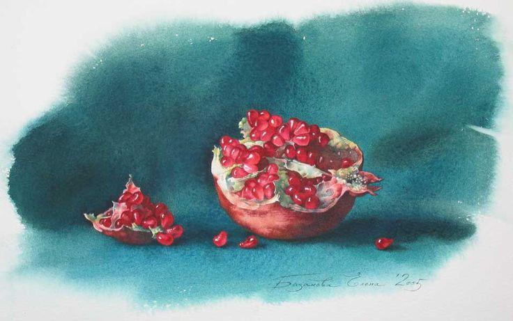 Elena Bazanova/ Елена Базанова #watercolor