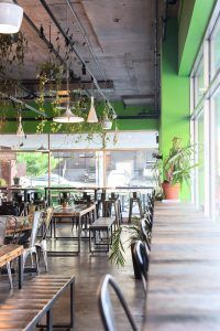 La Panthère Verte #vegan falaffel shop in Montréal (Latin Quarter)