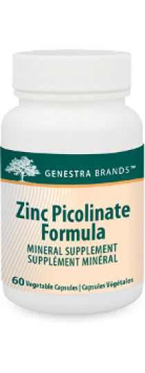 Zinc Picolinate Formula by Genestra - provides a source of this mineral to specifically assist the immune systems. Helps to maintain healthy skin, helps in connective tissue formation, helps the body metabolize carbohydrates, proteins and fats.