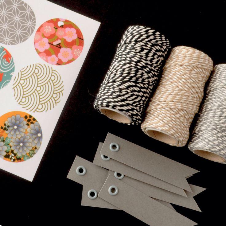 Round Pattern Sticker Seals