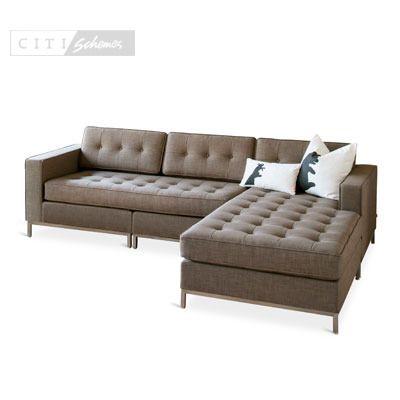 sofas u0026 sectionals gus jane bisectional - Deep Sectional Sofa