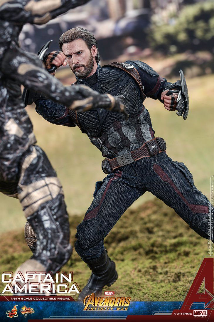 Hot Toys Avengers Infinity War Captain America With Images