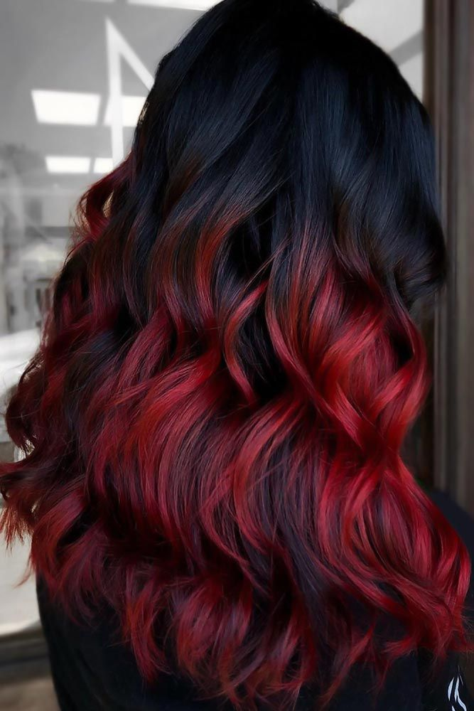 30 Ways To Take Your Black Ombre Hair To The Next Level Black Hair Ombre Black Hair Dye Hair Color For Black Hair