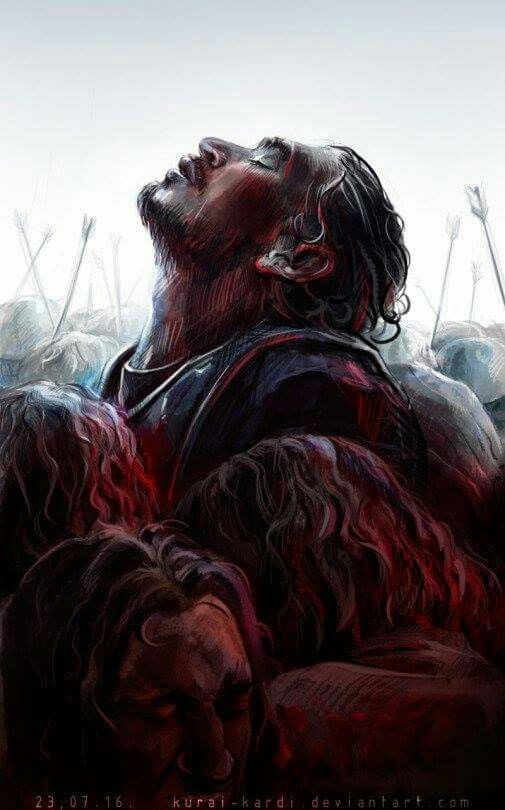 Jon Snow. Battle of Bastards.
