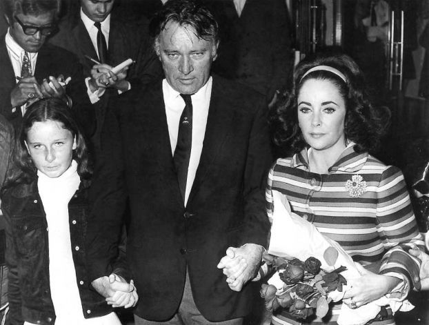 the burtons with daughter kate elizabeth taylor life