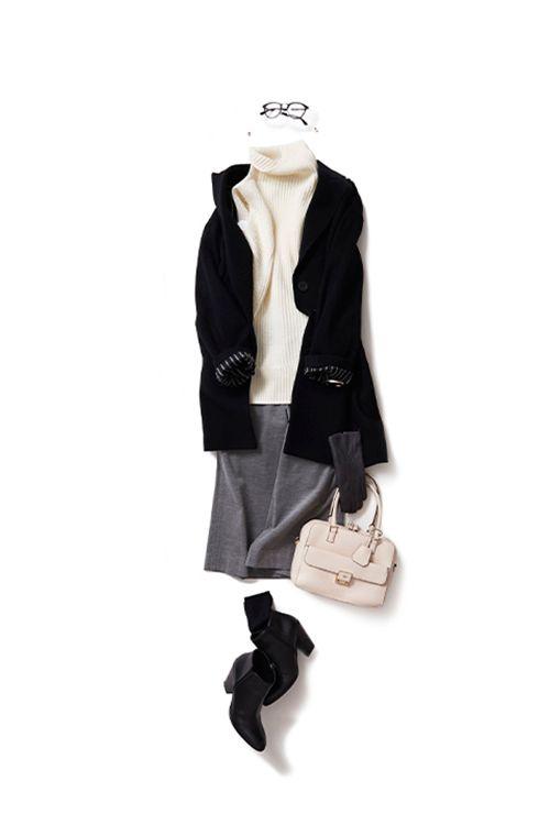 ベーシックなカラーを個性的に着てみる 2015-11-24 | vest price :52,920 brand : VINCE | trousers price :24,840 brand : LOUSTIC | boots brand : GIUSEPPE ZANOTTI