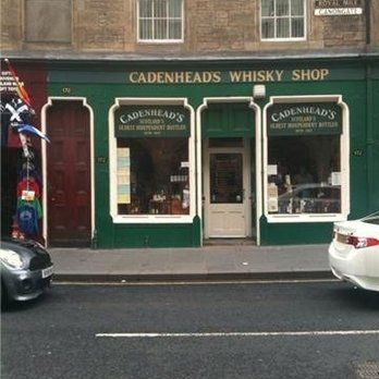 Cadenhead's Whisky Shop - Edinburgh, United Kingdom
