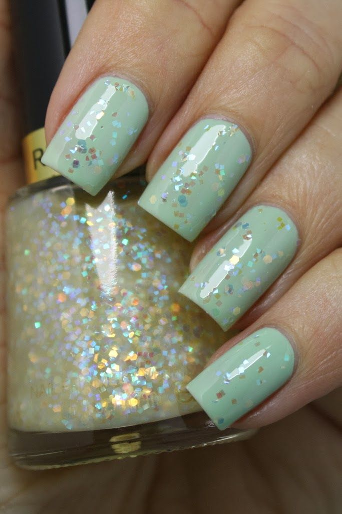 "Super cute combo - Revlon ""Minted"" with ""Heavenly"""