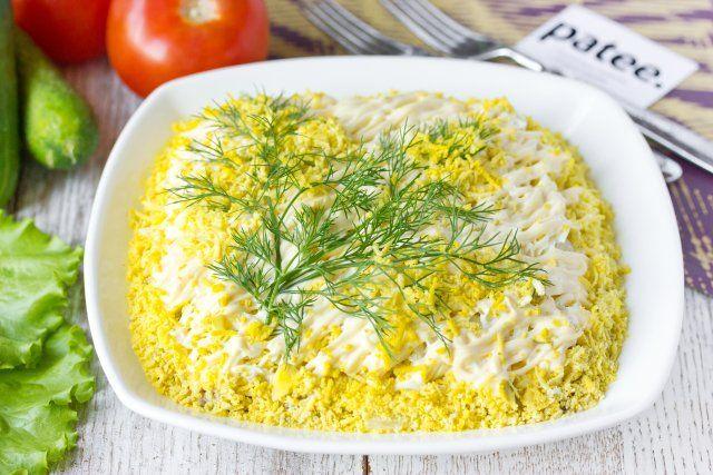 Салат Мимоза (классический рецепт)