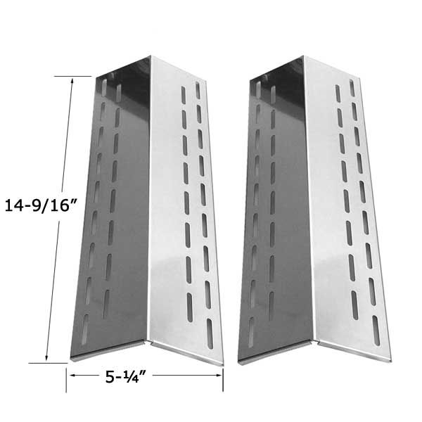 2 PACK STAINLESS STEEL HEAT SHIELD FOR XPS DXH-8501, NORTH AMERICAN OUTDOORS XH1510 GAS GRILL MODELS  Fits XPS Models : DXH-8501  BUY NOW @ http://grillrepairparts.com/shop/grill-parts/2-pack-stainless-steel-heat-shield-for-north-american-outdoors-xh1510-xps-xh1510-gas-grill-models/