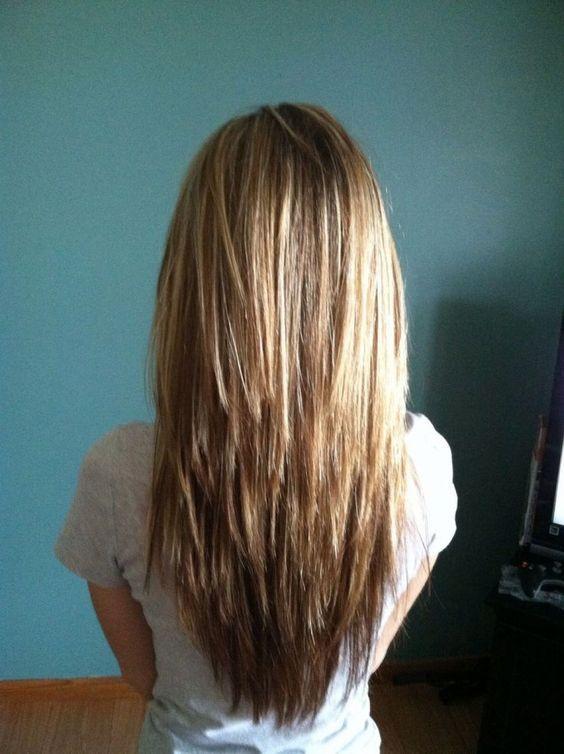 Long Hair Choppy Layers Hair Pinterest 2017 | hair | Long ...